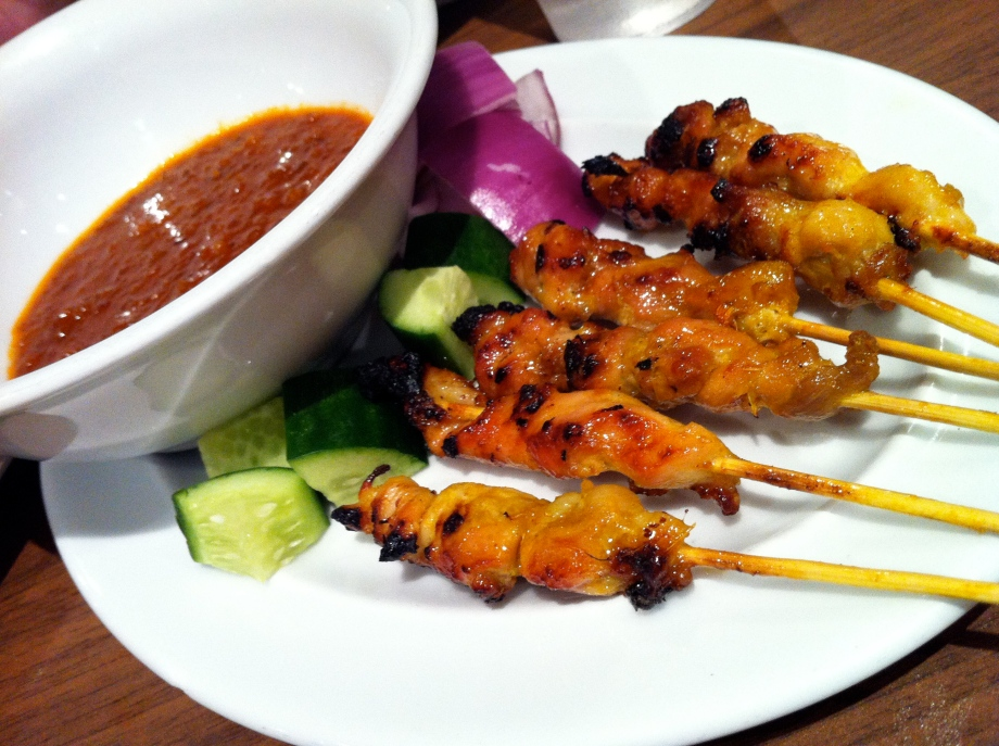 Mamak: satay chicken