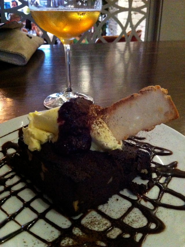 Five Bar: chocolate brownie