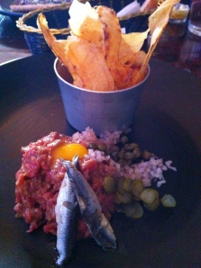 Madame Sousou: steak tartare